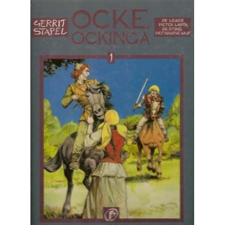 Ocke Ockinga & Huon de Neveling set deel 1 t/m 9 HC 1993-1995