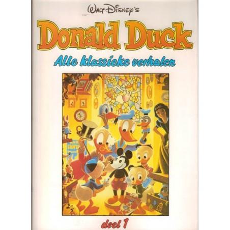 Donald Duck set HC Alle klassieke verhalen 17 delen 1992