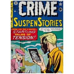 EC cassette Crime suspense stories 1 t/m 5 HC in luxe schuifdoos (1-27) first printing 1983