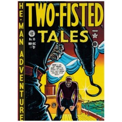 EC cassette Two fisted tales 1 t/m 4 HC in luxe schuifdoos (18-41) first printing 1980