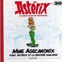 Asterix HC La grande galerie des personages 30 Mme Agecanonix dans Asterix et la rentree Gauloise