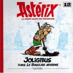 Asterix HC La grande galerie des personages 12 Joligibis dans Le bouclier Arverne