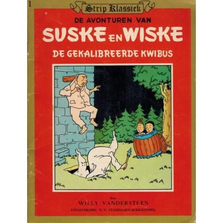 Strip klassiek 01 Suske & Wiske De gekalibreerde kwibus 1981