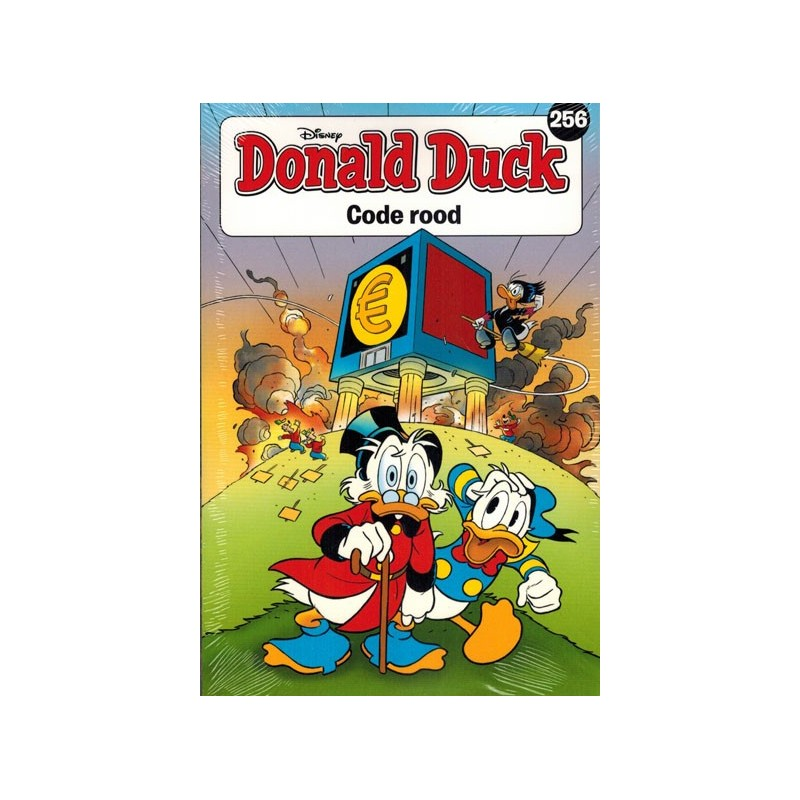 Donald Duck  pocket 256 Code rood