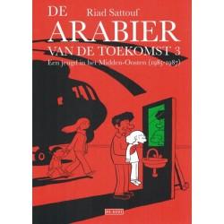 Sattouf strips De arabier van de troekomst 3 Een jeugd in het Midden-Oosten (1985-1987)