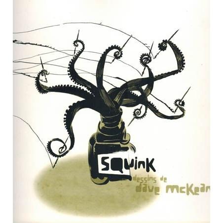 McKean boeken Squink dessins de Dave McKean