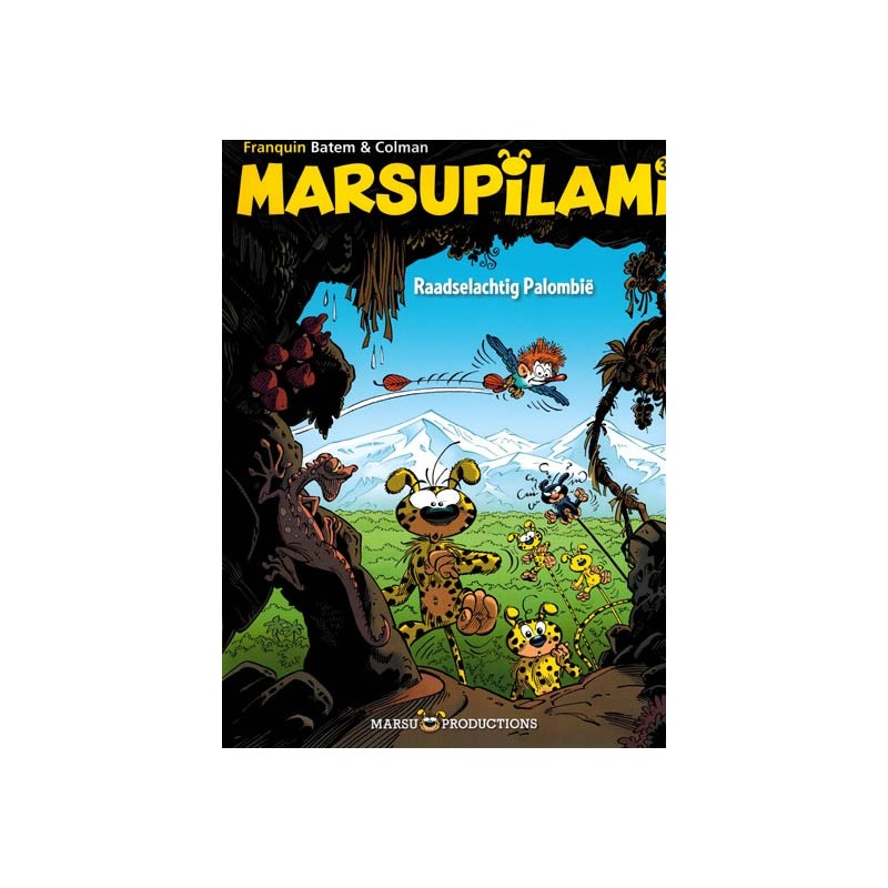 Marsupilami  30 Raadselachtig Palombie (naar Franquin)
