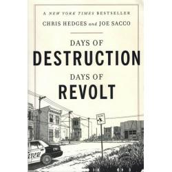 Sacco strips Days of destruction days of Revolt reprint 2014