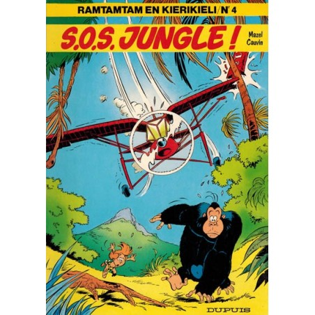 Ramtamtam en Kierikieli 04 S.O.S. Jungle! 1e druk 1981