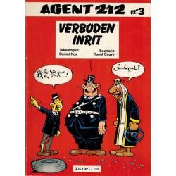Agent 212  03 Verboden inrit 1e druk 1983