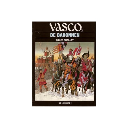 Vasco 05 De baronnen herdruk