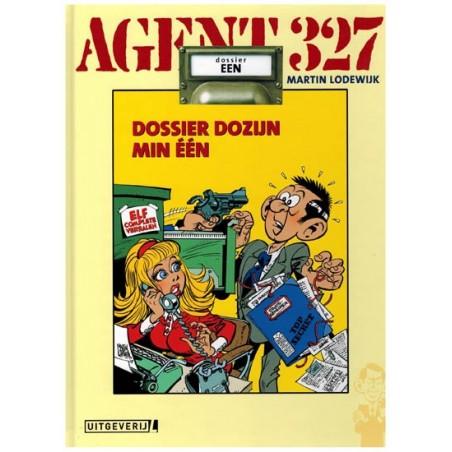 Agent 327  Luxe HC 01 Dossier Dozijn min een Mea culpa-editie