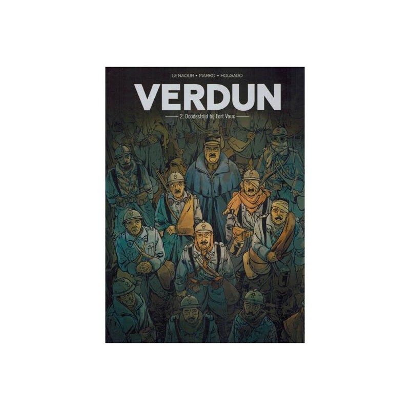 Verdun set HC deel 1 t/m 3 1e drukken 2017-2018