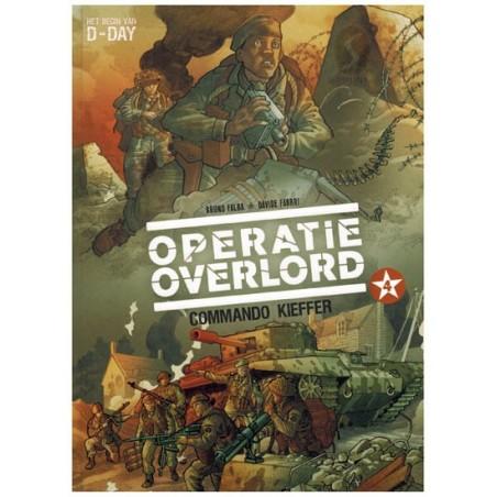 Operatie Overlord HC 04 Commando Kieffer (Het begin van D-Day) 1e druk  2017