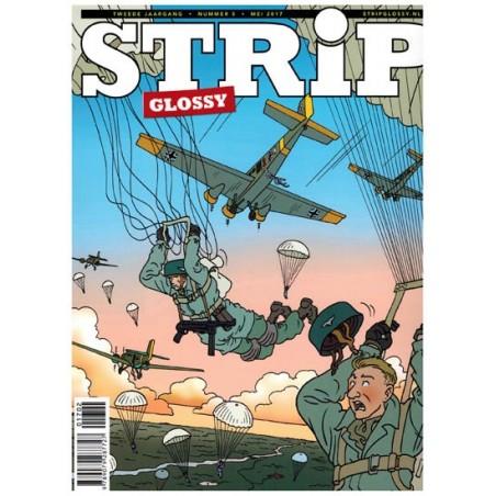 Strip glossy 05 Eric Heuvel Meimoorden, Frontstad Rotterdam, Saul De levende mantel, Vermist