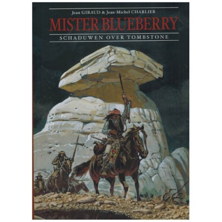 Blueberry  Luxe 06 Mister Blueberry Schaduw over Tombstone HC