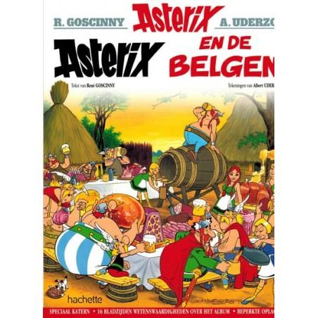 Asterix   Dossiereditie 24 De Belgen (met extra katern)