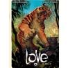 Love 02 De tijger (groter formaat dan de HC)