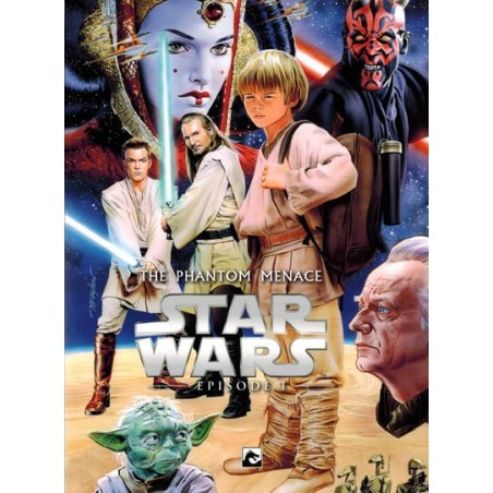 Star Wars  NL Filmstrip 01 The Phantom menace