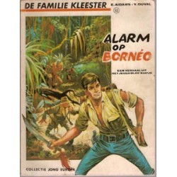 Familie Kleester Alarm op Borneo 1e druk 1970 Lombard Jong Europa 63
