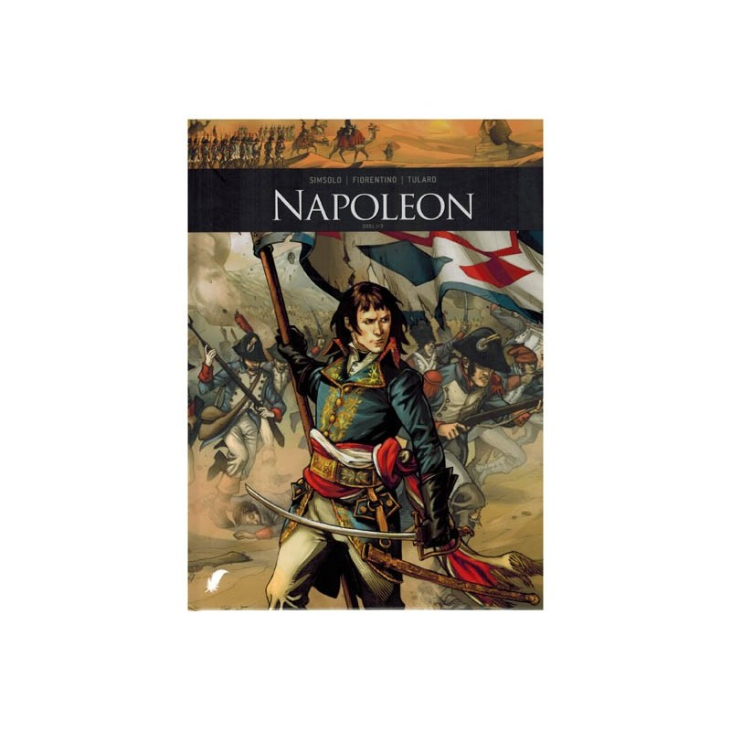 Zij schreven geschiedenis HC set Napoleon deel 1 t/m 3 1e drukken 2017-2019