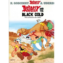 Asterix   UK 26 The black gold