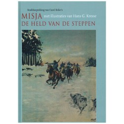 Kresse  illustraties HC Misja de held van de steppen (Carl Beke)