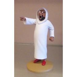 Kuifje  beeldje Omar Ben Salaad boos (De krab met de gulden scharen pag.56)