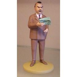 Kuifje  beeldje Al Capone gangsterkoning (In Amerika pag. 5)