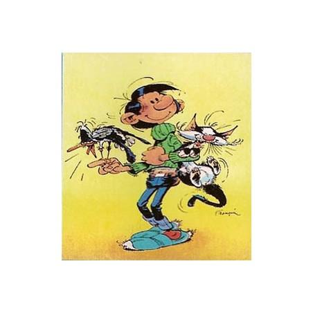 Guust Flater  poster 07 Guust met zijn kat en de lachmeeuw