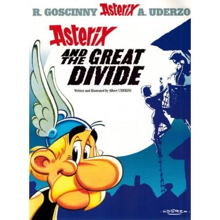 Asterix  UK 25 The great divide (Engelstalig)