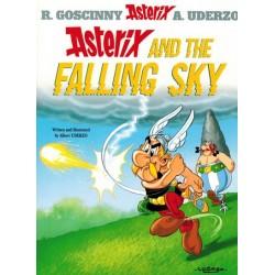 Asterix  UK 33 The falling sky (Engelstalig)