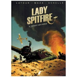 Lady Spitfire HC 04 Desert Air Force