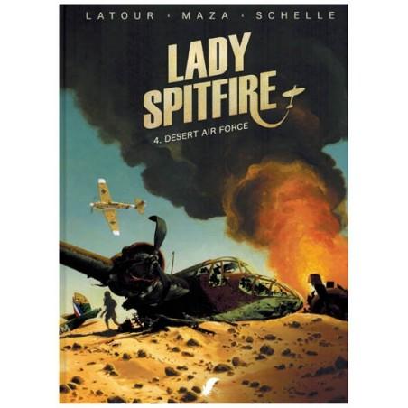 Lady Spitfire HC 04 Desert Air Force