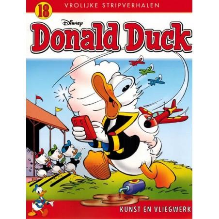 Donald Duck  Vrolijke stripverhalen 18 Kunst en vliegwerk