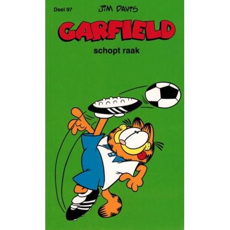 Garfield  pocket 097 Schopt raak