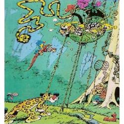 Marsupilami<br>poster 06 - Een panter besluipt het nest