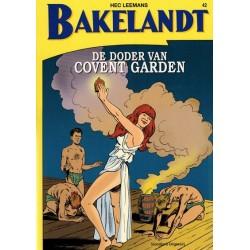 Bakelandt 42 De doder van Covent Garden herdruk