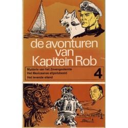 Kapitein Rob pocket Eerste reeks 04 Mysterie van het Zevengesternte / Het Mexicaanse afgodsbeeld / Het levende eiland 1969