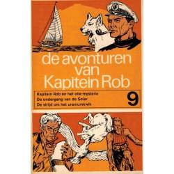 Kapitein Rob pocket Eerste reeks 09 Het olie-mysterie / De ondergang van de Solar / De strijd om het uraniumkwik 1969