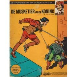 Dappere musketier De musketier van de koning Nestle reclame album 1970