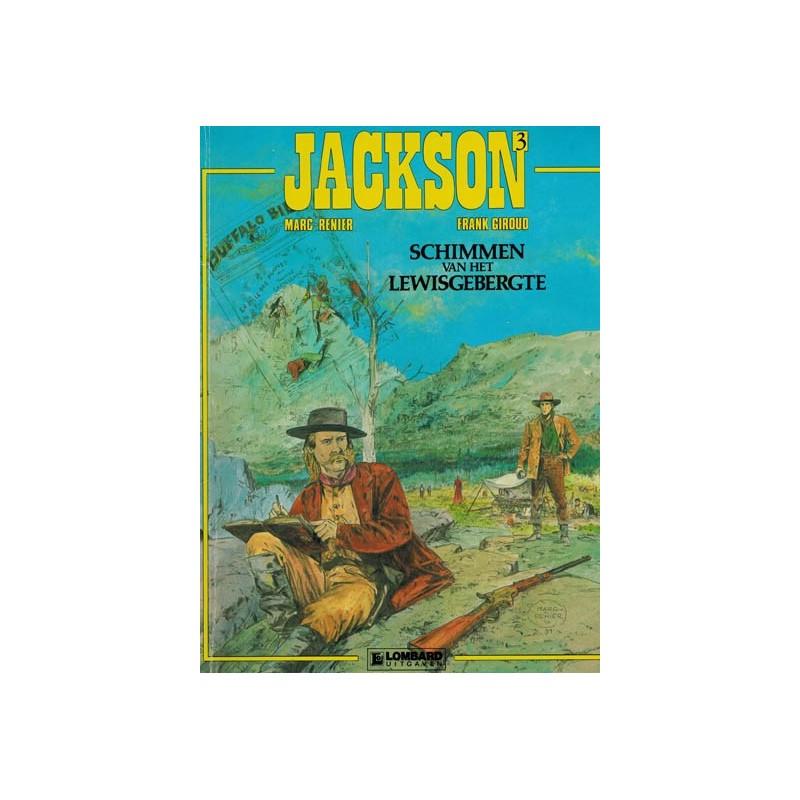 Jackson 03% Schimmen van het Lewisgebergte 1e druk 1991