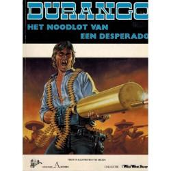 Durango 06 Het noodlot van een desperado 1e druk 1986