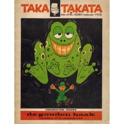 Taka Takata De gouden haak 1e druk Helmond 1969 Favorietenreeks 1.28