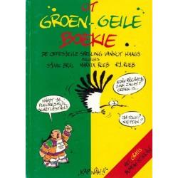 Haagse Harry Ut groen-geile boekie herdruk 1998 (met bumpersticker)