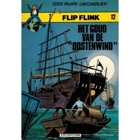 Flip Flink 12 Het goud van de Oostenwind 1e druk 1982