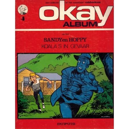 Okay album 04 Sandy en Hoppy Koala's in gevaar 1e druk 1972
