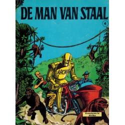 Archie de man van staal 04 Het ijzeren monster / Het geheim van de stenen leeuw 1e druk 1966