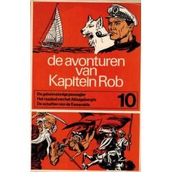 Kapitein Rob pocket Eerste reeks 10 Geheimzinnige passagier / Rraadsel Atlasgebergte / Schatten Esmeralda 1970