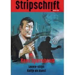 Stripschrift  451 Kees Sparreboom, Louvre-strips, Kuifje als kunst